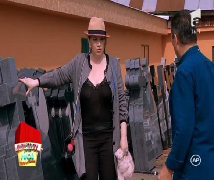 """VIDEO / Oana Lis se pregăteşte pentru ce-i mai rău! Nea Mărin: """"Cred că vrea să-i aleagă crucea domnului Lis!"""""""