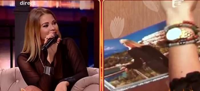 VIDEO / Imagini din cuibuşorul de nebunii al Roxanei Nemeş! Cine stă mereu în dormitorul ei