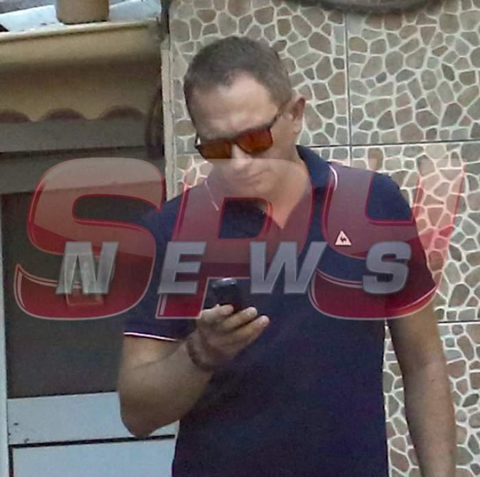 Soţul Cristinei Spătar profită de libertate aşa cum ştie el mai bine! Imagini exclusive surprinse de paparazzii Spynews.ro