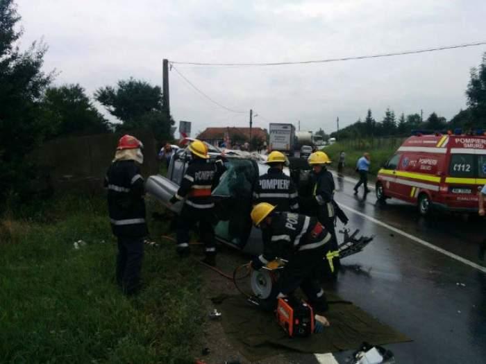 Accident mortal, în Sighişoara! O femeie şi-a pierdut viaţa, iar alte două persoane au fost rănite grav