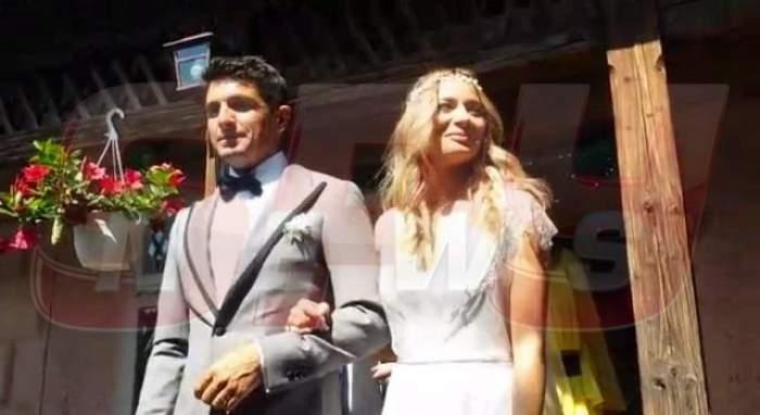 FOTO / Laura Cosoi, o dată aleasă şi de două ori mireasă! Primele imagini de la nunta tradiţională! Tot satul a venit să o vadă