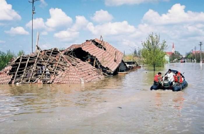 Stare de alertă! COD GALBEN de inundaţii! Ce zone au fost vizate