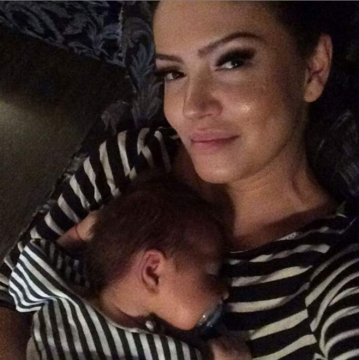 Andreea Mantea, o mămică fericită! În ce ipostază inedită şi-a fotografiat fiul! Imaginea a strâns mii de like-uri