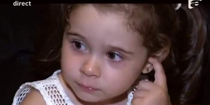 VIDEO / De ce a plâns Maria la botezul surioarei sale mai mici? Motivul este incredibil