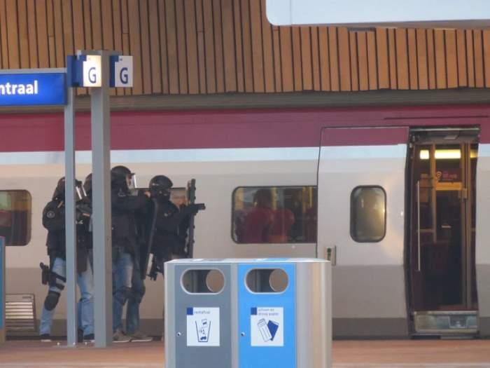 Alertă teroristă în Rotterdam! Un bărbat ameninţă că aruncă în aer un tren
