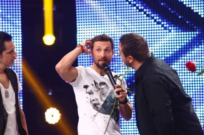 """Dani Oțil, pețit pe scena X Factor: """"Tu ești viitoarea soție a lui!"""""""
