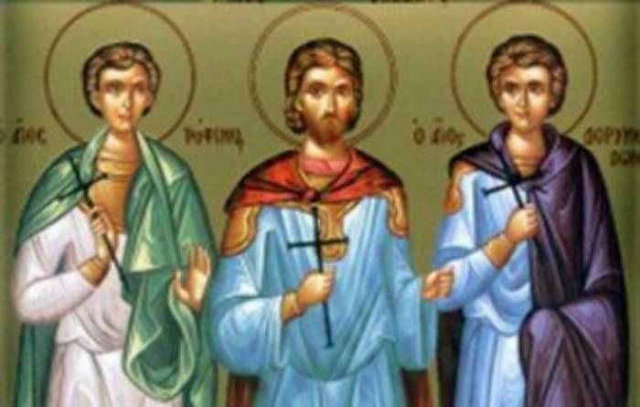 Sărbătoare pentru creştini! Ce sfinţi prăznuim azi