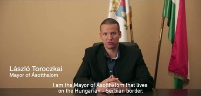 VIDEO / Cum a speriat imigranţii un primar din Ungaria