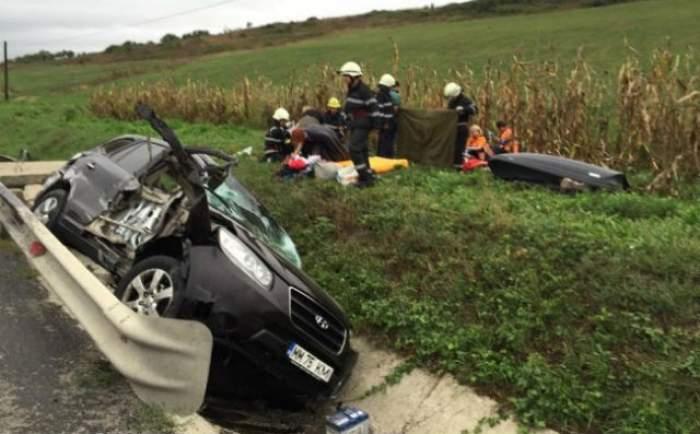 Accident TERIBIL în  România. Un copil a murit, alţi doi au fost duşi la spital!