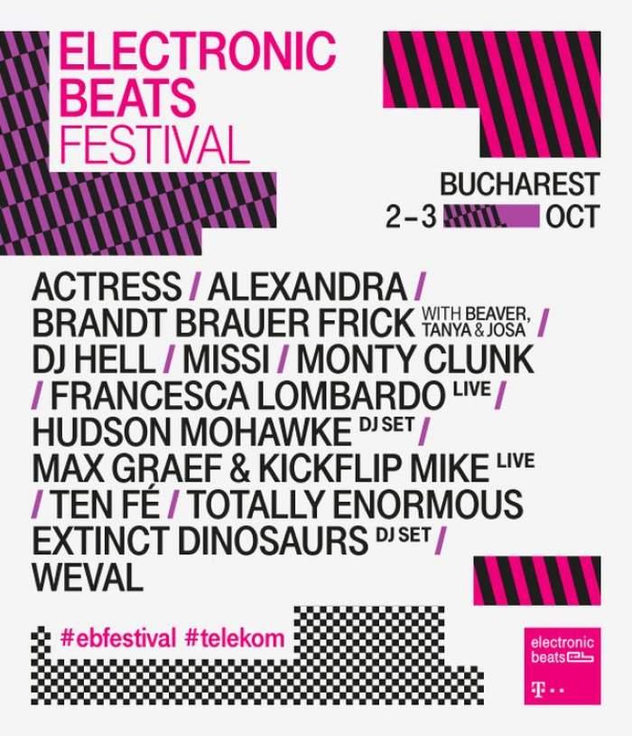 Festivalul Electronic Beats cucerește Bucureștiul: 72 de ore cu zeci de experiențe muzicale și urbane