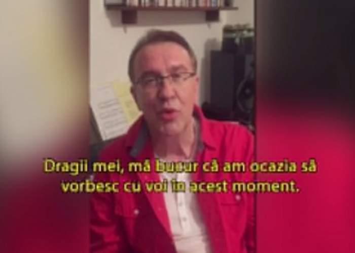 """Primul mesaj al lui Gabriel Cotabiţă, după ce a fost la un pas de moarte: """"Dragii mei, mă bucur că am ocazia..."""""""