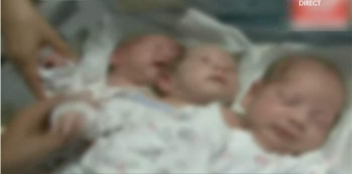 Le-a născut, le-a dat nume şi... le-a părăsit! Povestea mamei care a abandonat trei fetiţe în maternitate