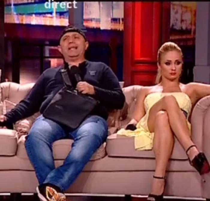 VIDEO / Prima reacţie a lui Nicolae Guţă după ce a snopit-o în bătaie pe Iulia!