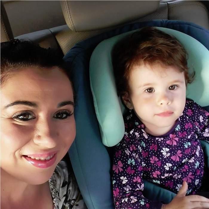 """Imagine adorabilă cu fiica Oanei Roman. """"Mă topesc de iubire"""""""