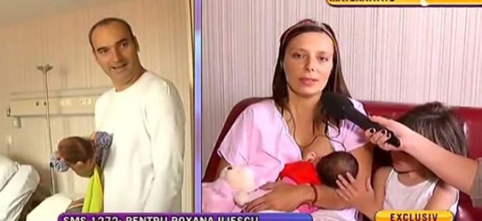 VIDEO / Momente grele pentru Roxana Iliescu! În timp ce a ajuns la spital ca să nască, medicii i-au dat o veste teribilă
