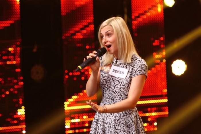 """VIDEO / O blondă din Repulica Moldova a făcut senzaţie pe scena de la """"X Factor"""": """"Unde ai fost în ultimii cinci ani?"""""""