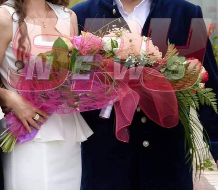 """FOTO&VIDEO / Cel mai bine vândut solist român s-a ÎNSURAT cu o """"bunăciune"""". Avem imagini de la eveniment"""