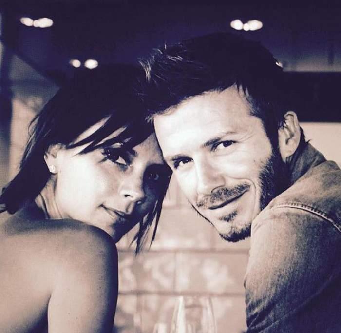 Prima DOVADĂ a rupturii dintre David şi Victoria Beckham. Ea unde e? Fostul fotbalist a petrecut singur cu prietenii