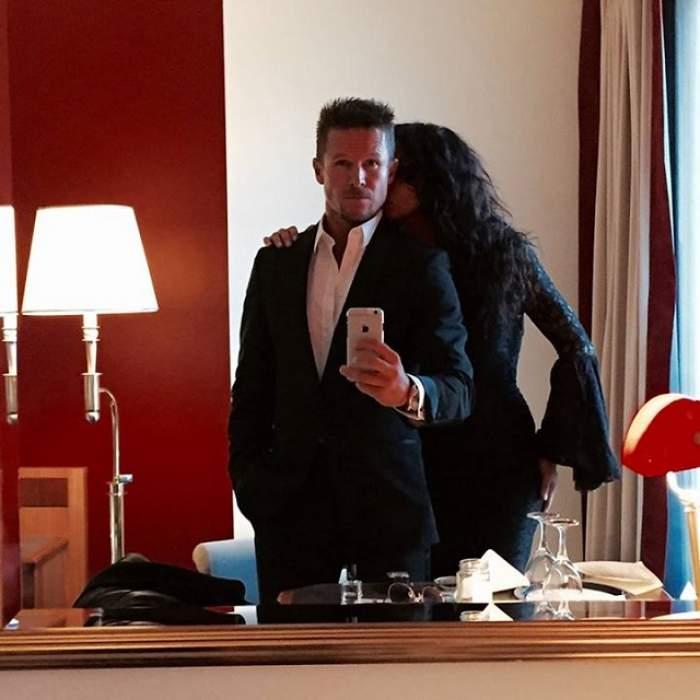 """Felix Baumgartner şi Mihaela Rădulescu, un cuplu de """"poveste""""! O nouă imagine din dormitorul celor doi, făcută publică de sportiv"""