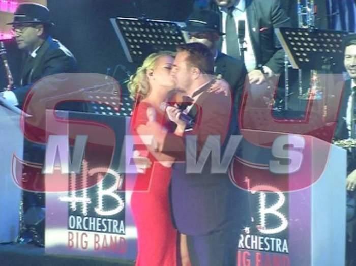 VIDEO / Au venit, au cântat şi s-au sărutat. Delia şi Horia Brenciu au oferit imaginea serii!