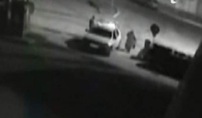 VIDEO /  Profesoara din Roman care şi-a tranşat soţul, filmată la scurt timp după crimă