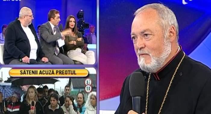 VIDEO / Copii la cerşit! Preot, acuzat de pact cu Diavolul