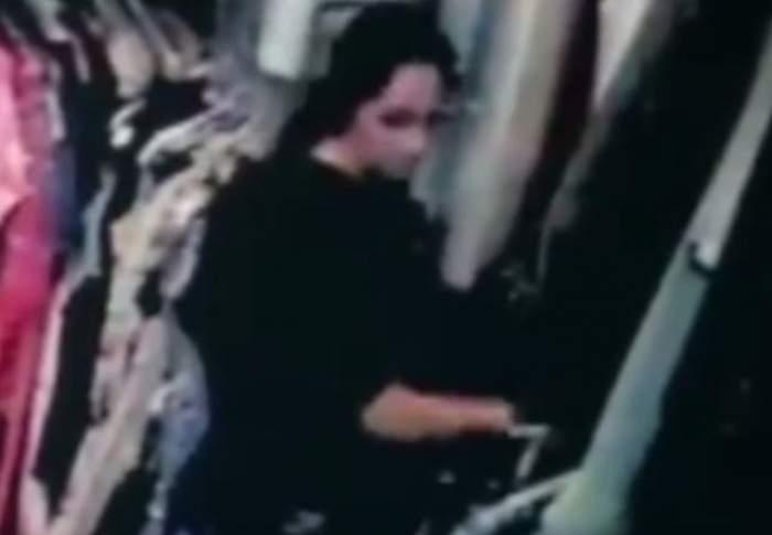 VIDEO / O româncă a fost filmată în timp ce FURA! Ce GREŞEALĂ a făcut hoaţa care a ajuns pe mâna poliţiei