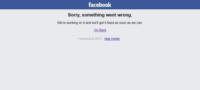 A picat Facebook-ul! Utilizatorii nu şi-au mai putut accesa conturile