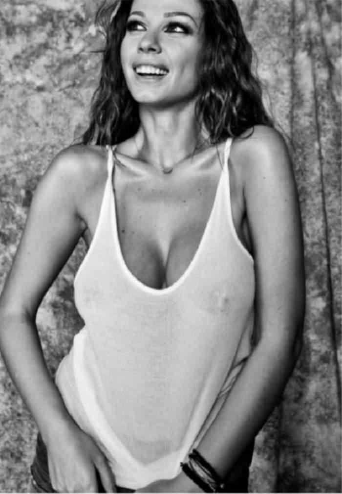 """Imaginea care i-a făcut pe fanii Iulianei Luciu să exclame: """"Eşti îndrăgostită!"""""""