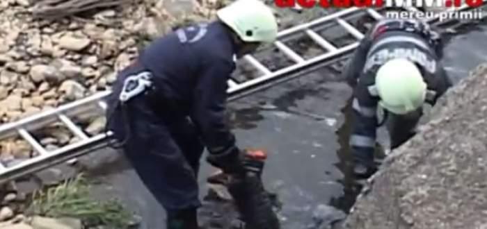 VIDEO DE GROAZĂ / Un bărbat a fost găsit MORT în râul Săsar! Ce au aflat poliţiştii până acum