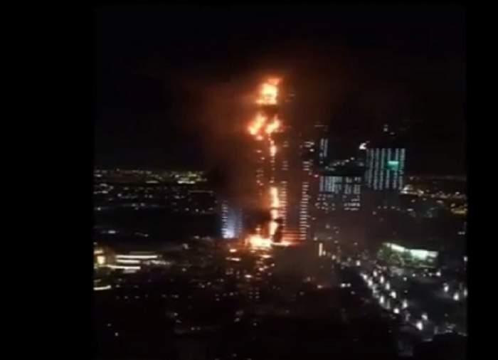 VIDEO /  Şi-a cărat mama paralizată în spate ca s-o scape din flăcări! Povestea dramatică a unor victime ale incendiului de la hotelul de lux din Dubai