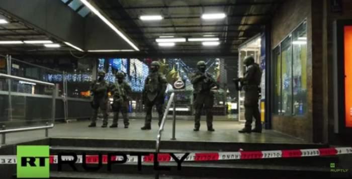 VIDEO / Două gări din Munchen au fost evacuate de urgenţă de Revelion! Nivelul de alertă teroristă rămâne încă ridicat în oraşul german
