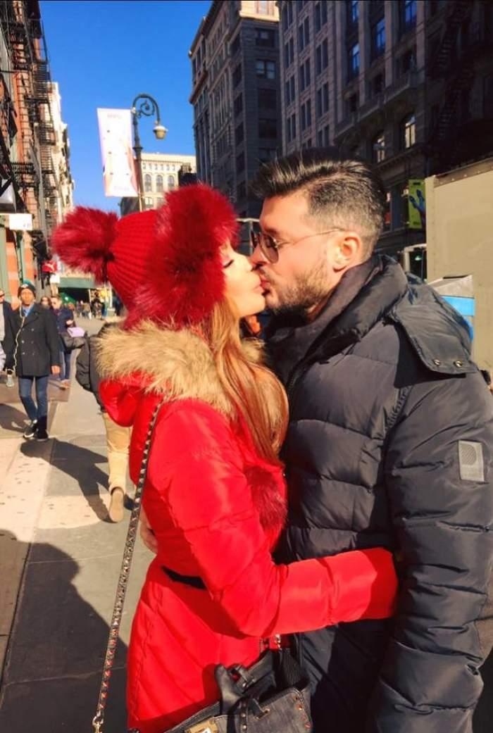Sunt de nedespărţit! Bianca Drăguşanu şi Victor Slav, surprinşi în tandreţuri
