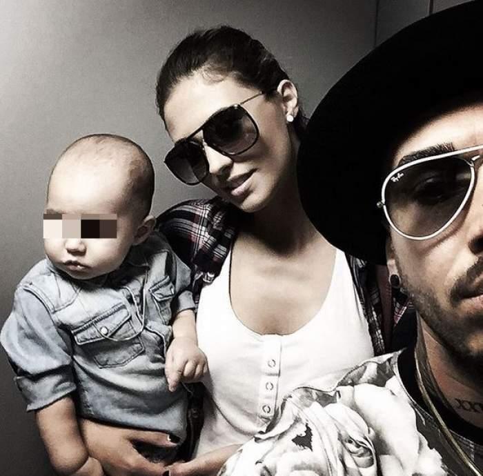 VIDEO /  S-a născut un star! Chiar dacă are doar un an, băiatul Antoniei şi al lui Alex Velea ştie să cânte la orgă