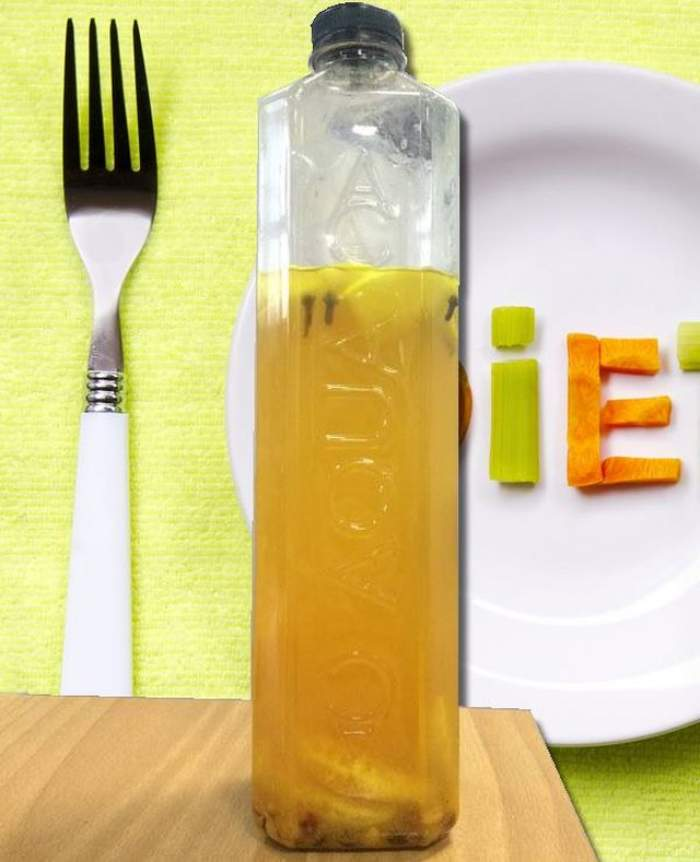 Cel mai în vogă suc detoxifiant şi vitaminizant! Scapi de un kilogram pe zi