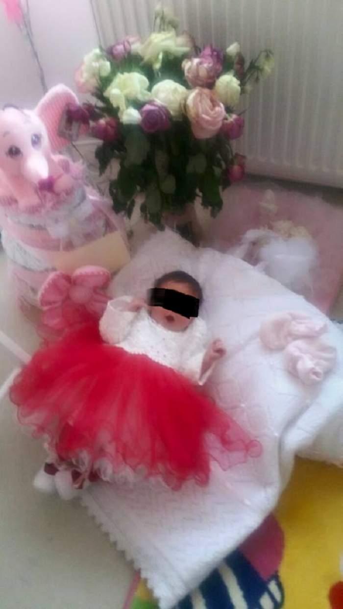 Fetiţa Sânzianei Buruiană şi a lui Nicolae Zuluf doarme într-o trăsură! Cum o răsfaţă proaspeţii părinţi?