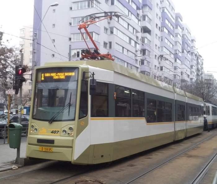 Şocant! Un bărbat a murit strivit de un tramvai în Capitală