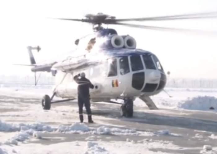 VIDEO / Turişti salvaţi cu elicopterele din vârful muntelui!
