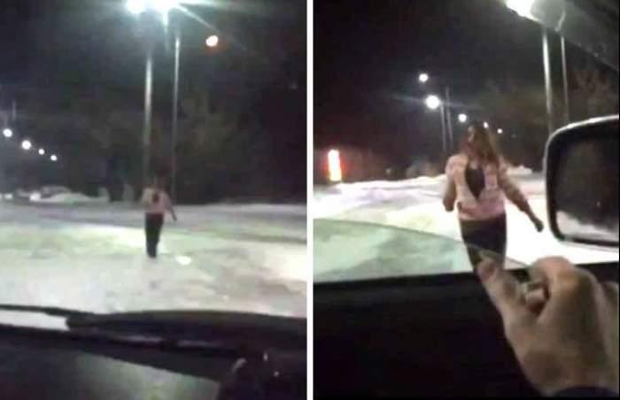 VIDEO şocant / O femeie cu mâinile pline de sânge s-a apropiat de maşina lui. Când a auzit ce i-a spus, soferul a înlemnit