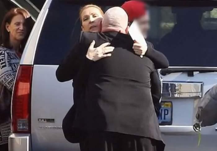 VIDEO / I se citeşte suferinţa pe chip. Celine Dion, prima apariţie după moartea soţului său