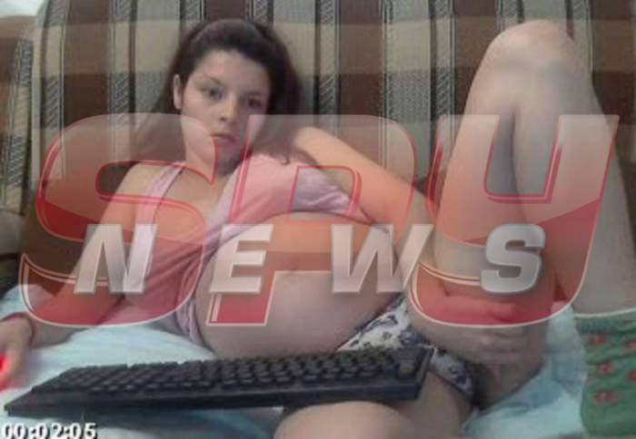 ATENŢIE, IMAGINI ŞOCANTE! Ce făcea în faţa webcam-ului individa care şi-a violat copiii pentru bani! Mama pedofilă, în timpul acţiunii!