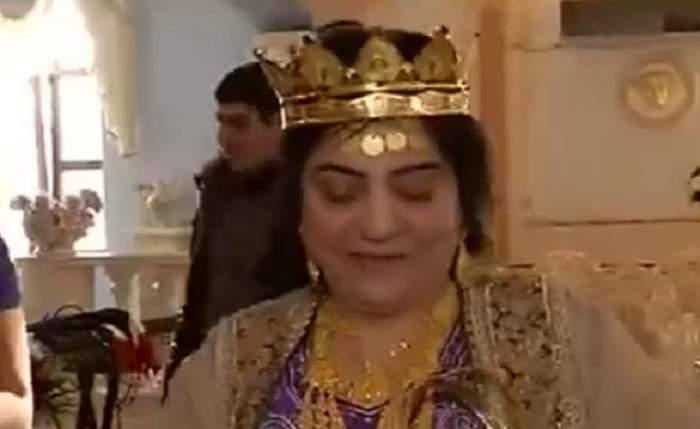 VIDEO / Zi mare în lumea romilor! Regina magiei albe, Maria Câmpina, îşi mărită una dintre nepoate!