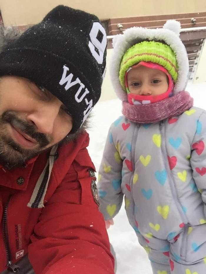"""VIDEO / Connect-R, mesaj emoţionant pentru fiica lui care a împlinit 2 anişori: """"Lumea mea e altfel"""""""