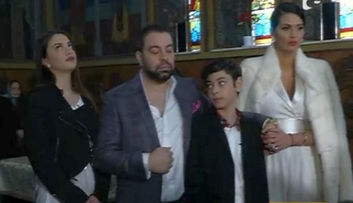 """VIDEO / Şi-au creştinat fiica cu frica-n sân! Florin Salam şi Roxana Dobre au trecut prin emoţii crâncene în biserică: """"Nu a putut fi botezată aşa cum ar fi trebuit"""""""