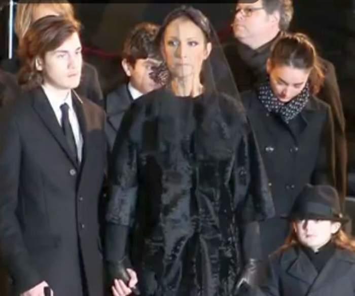 VIDEO / Zi neagră pentru Celine Dion! Azi işi conduce fratele pe ultimul drum