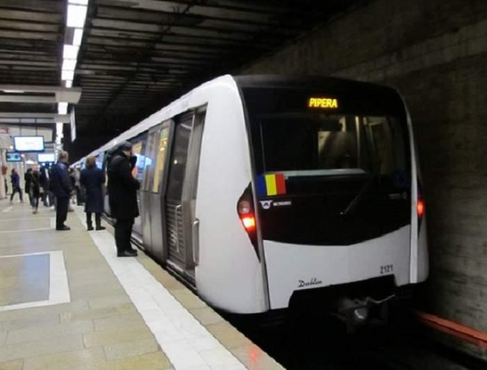 A trecut metroul peste el după ce a salvat un om căzut pe şine!