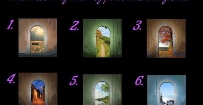 Testul suprem! Află cum va fi viaţa ta în doar doi paşi:  Alege poarta şi îţi va dezvălui calea!