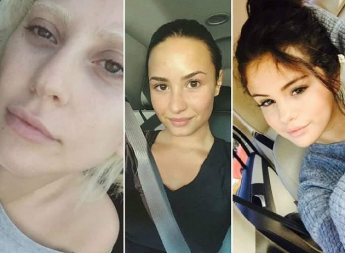 FOTO / 12 celebrităţi care arată absolut HORROR fără machiaj! Sunt de nerecunoscut!