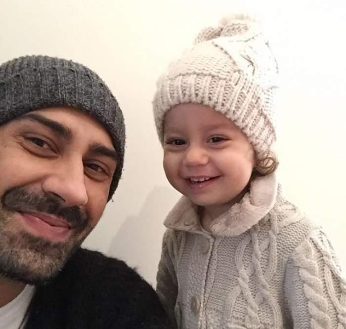 """VIDEO / Fiica lui Connect-R, fashionistă de la 2 ani! Artistul e tare mândru de ea. Cum se """"antrenează"""" micuţa sub privirile Mishei"""