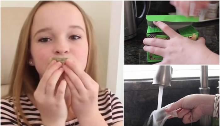 Şi-a aplicat ceai pe buze şi rezultatele au uimit tot internetul! Ce se întâmplă când faci asta